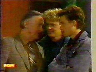 Dan Ramsay, Henry Ramsay, Mike Young in Neighbours Episode 0519