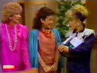 Charlene Mitchell, Madge Bishop, Lucy Robinson in Neighbours Episode 0519