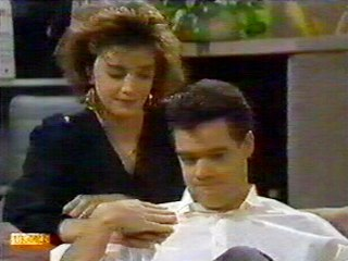 Gail Robinson, Paul Robinson in Neighbours Episode 0524