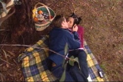 Tad Reeves, Larissa Carlwell in Neighbours Episode 3815