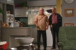 Lou Carpenter, Harold Bishop in Neighbours Episode 3815