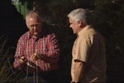 Harold Bishop, Lou Carpenter in Neighbours Episode 3816