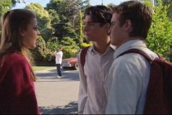 Felicity Scully, Paul McClain, Tad Reeves in Neighbours Episode 3816