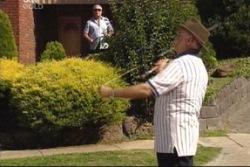Lou Carpenter, Harold Bishop in Neighbours Episode 3816