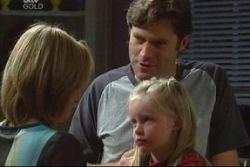Maggie Hancock, Evan Hancock, Emily Hancock in Neighbours Episode 3817