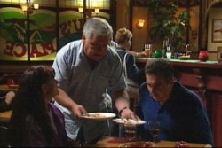 Lou Carpenter, Susan Kennedy, Karl Kennedy in Neighbours Episode 3817