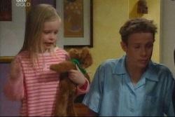 Emily Hancock, Leo Hancock in Neighbours Episode 3817