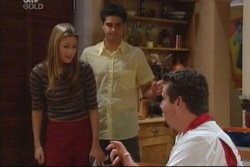 Felicity Scully, Matt Hancock, Toadie Rebecchi in Neighbours Episode 3819