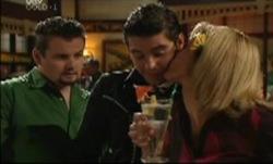 Toadie Rebecchi, Matt Hancock, Sheena Wilson in Neighbours Episode 3834