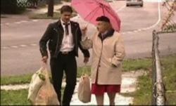 Matt Hancock, Iris Montague in Neighbours Episode 3835