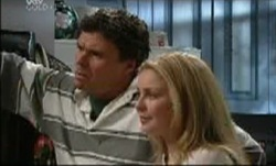 Joe Scully, Michelle Scully in Neighbours Episode 3835