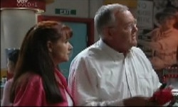 Susan Kennedy, Harold Bishop in Neighbours Episode 3837