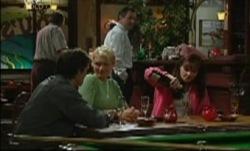 Darcy Tyler, Tess Bell, Karl Kennedy, Susan Kennedy in Neighbours Episode 3837