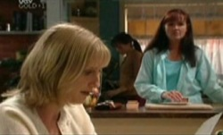 Maggie Hancock, Libby Kennedy, Susan Kennedy in Neighbours Episode 3841