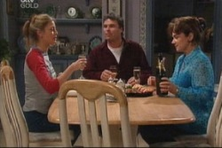 Felicity Scully, Joe Scully, Lyn Scully in Neighbours Episode 3843