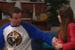 Toadie Rebecchi, Libby Kennedy  in Neighbours Episode 3845