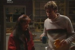 Susan Kennedy, Evan Hancock in Neighbours Episode 3847