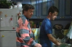 Joe Scully, Larry Woodhouse (Woody) in Neighbours Episode 3847