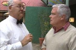 Harold Bishop, Lou Carpenter in Neighbours Episode 3849