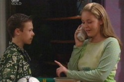 Leo Hancock, Michelle Scully in Neighbours Episode 3849