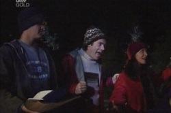 Matt Hancock, Evan Hancock, Susan Kennedy in Neighbours Episode 3850
