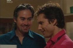Victor McMillan, Darcy Tyler in Neighbours Episode 3851