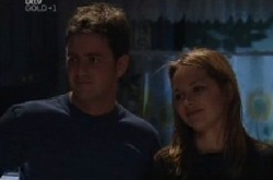 Larry Woodhouse (Woody), Steph Scully in Neighbours Episode 3852