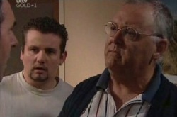 Toadie Rebecchi, Karl Kennedy, Harold Bishop in Neighbours Episode 3852