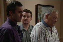 Karl Kennedy, Toadie Rebecchi, Harold Bishop in Neighbours Episode 3852