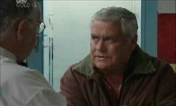 Harold Bishop, Lou Carpenter in Neighbours Episode 3853