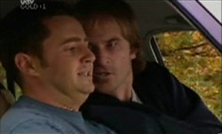 Larry Woodhouse (Woody), Barry Burke in Neighbours Episode 3853