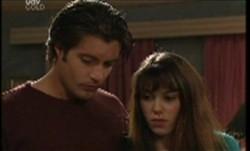 Drew Kirk, Libby Kennedy in Neighbours Episode 3855
