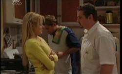 Dee Bliss, Joel Samuels, Toadie Rebecchi in Neighbours Episode 3855