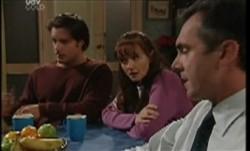 Drew Kirk, Susan Kennedy, Karl Kennedy in Neighbours Episode 3855