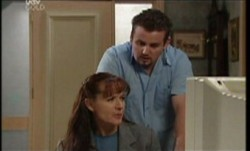 Toadie Rebecchi, Susan Kennedy in Neighbours Episode 3855