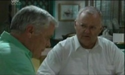 Lou Carpenter, Harold Bishop in Neighbours Episode 3861