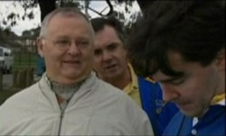 Harold Bishop, Karl Kennedy, Paul McClain in Neighbours Episode 3861