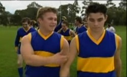 Nathan Tyson, Paul McClain in Neighbours Episode 3861
