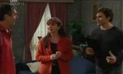 Karl Kennedy, Susan Kennedy, Darcy Tyler in Neighbours Episode 3862