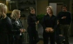 Felicity Scully, Steph Scully, Drew Kirk in Neighbours Episode 3864