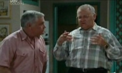 Lou Carpenter, Harold Bishop in Neighbours Episode 3865
