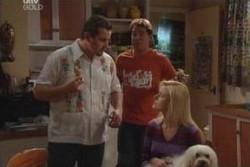 Toadie Rebecchi, Joel Samuels, Dee Bliss, Bob in Neighbours Episode 3867