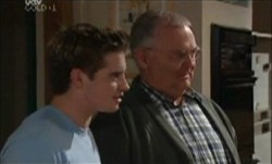 Tad Reeves, Harold Bishop in Neighbours Episode 3870