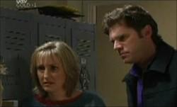Maggie Hancock, Evan Hancock in Neighbours Episode 3873