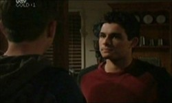 Dave Gorman, Paul McClain in Neighbours Episode 3873