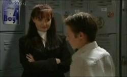 Susan Kennedy, Leo Hancock in Neighbours Episode 3873