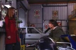 Libby Kennedy, Drew Kirk in Neighbours Episode 3874