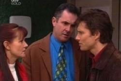 Karl Kennedy, Susan Kennedy, Darcy Tyler in Neighbours Episode 3874