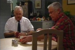 Harold Bishop, Lou Carpenter in Neighbours Episode 3876