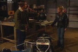Drew Kirk, Steph Scully in Neighbours Episode 3876